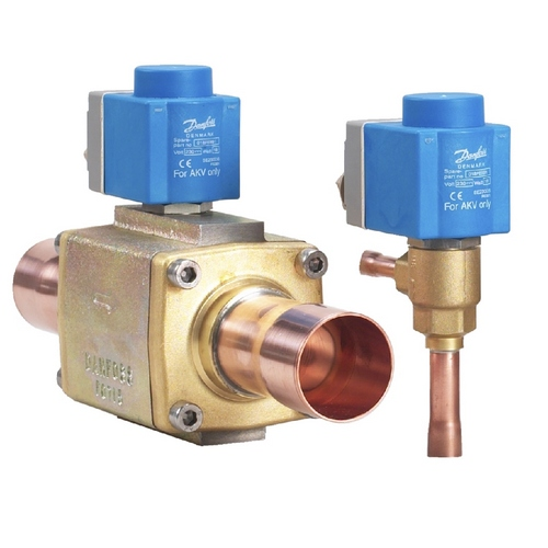 Импульсные электронные расширительные клапаны Danfoss серии AKV