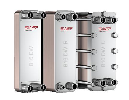 Паяный пластинчатый теплообменник SWEP B16DW Одинцово Подогреватель высокого давления ПВД-К-400-20-4,5-6 Кисловодск