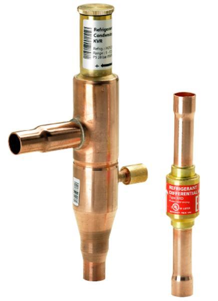 Регуляторы давления конденсации Danfoss KVR/NRD
