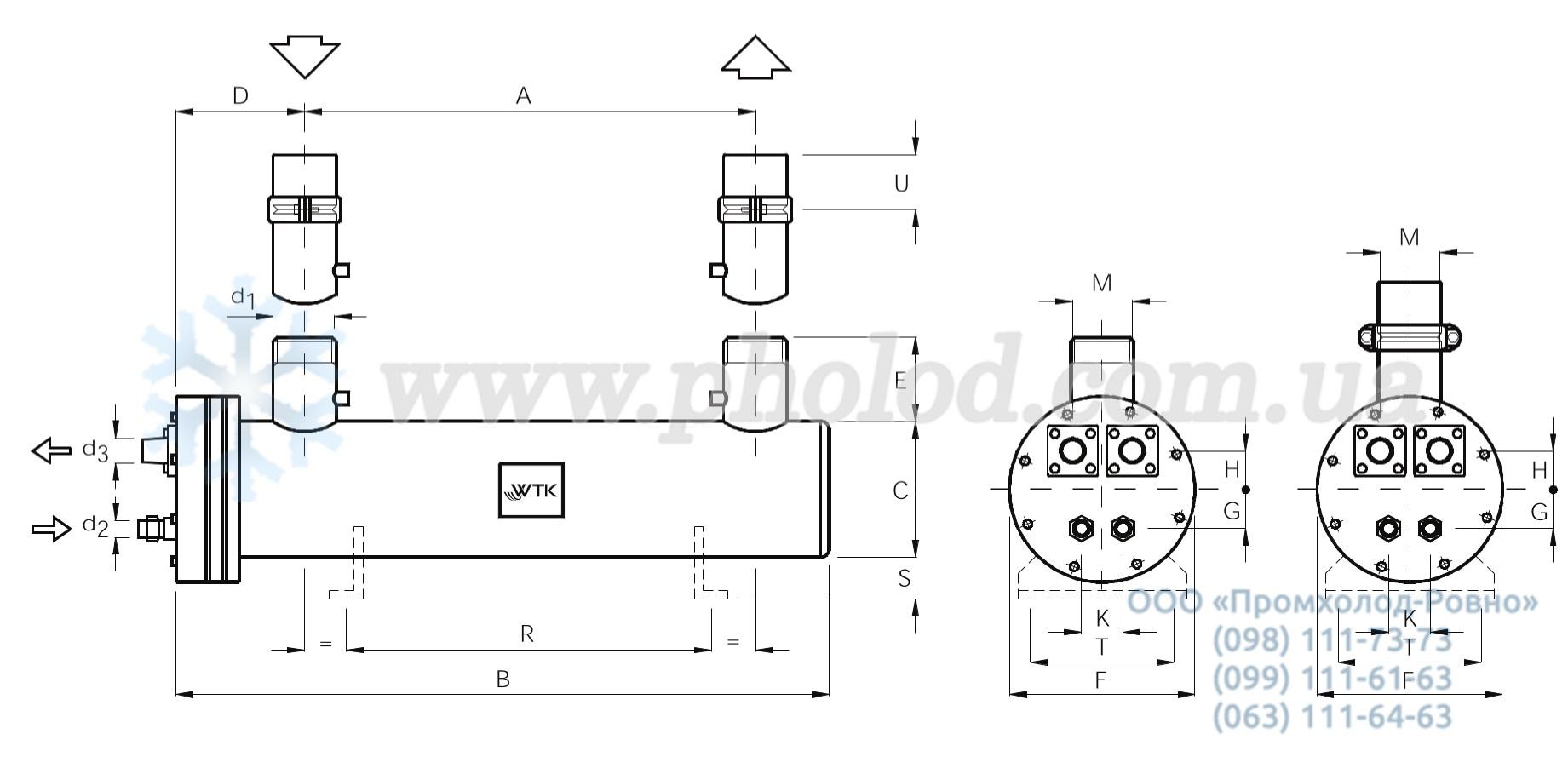 Кожухотрубный испаритель WTK DCE 343 Артём Пластинчатый теплообменник Машимпэкс (GEA) NT 50T Глазов