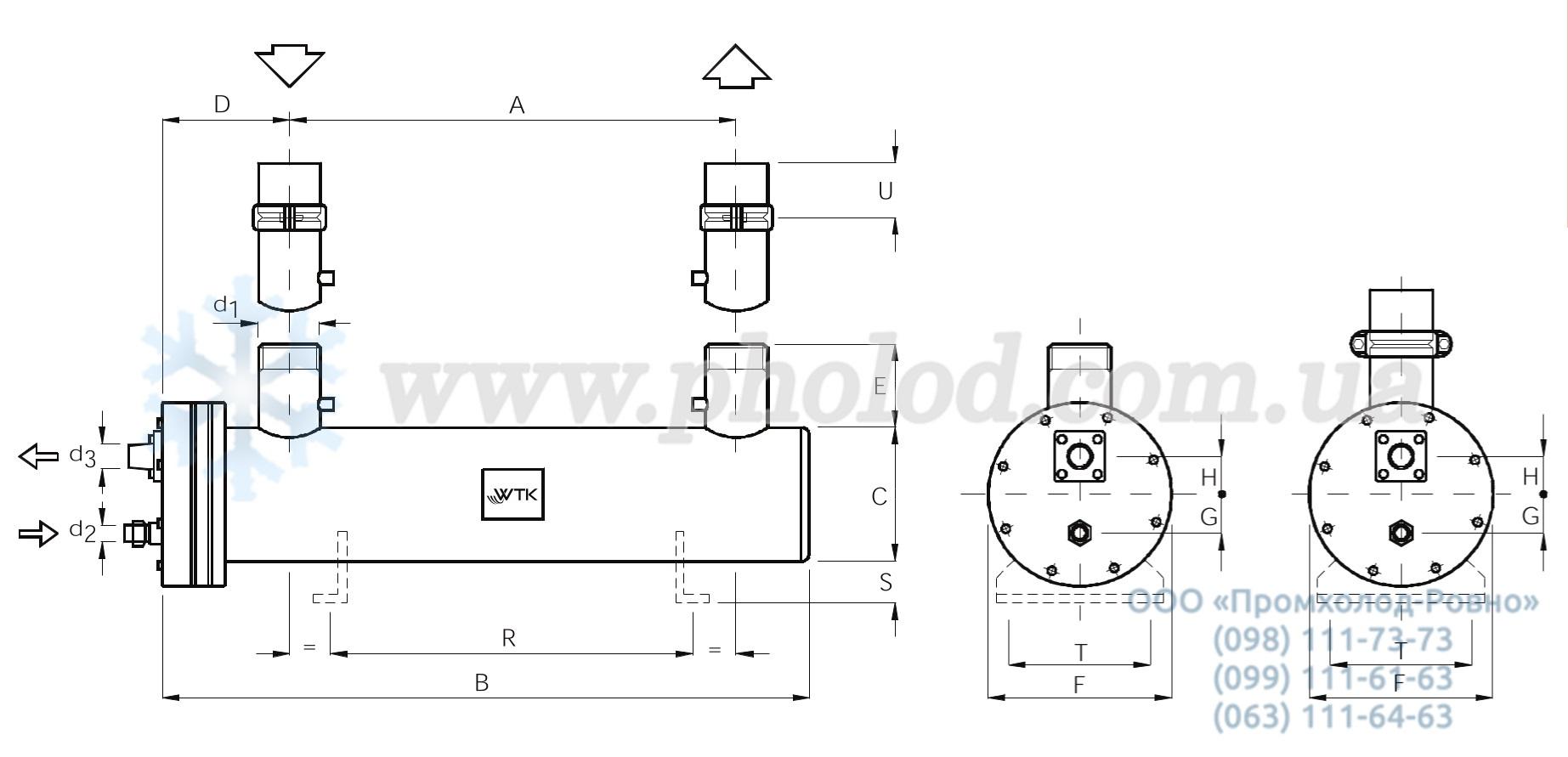 Кожухотрубный конденсатор Alfa Laval CPS 100 Артём Alfa P-Scale - Удаление неорганических отложений и кабоната кальция Сарапул