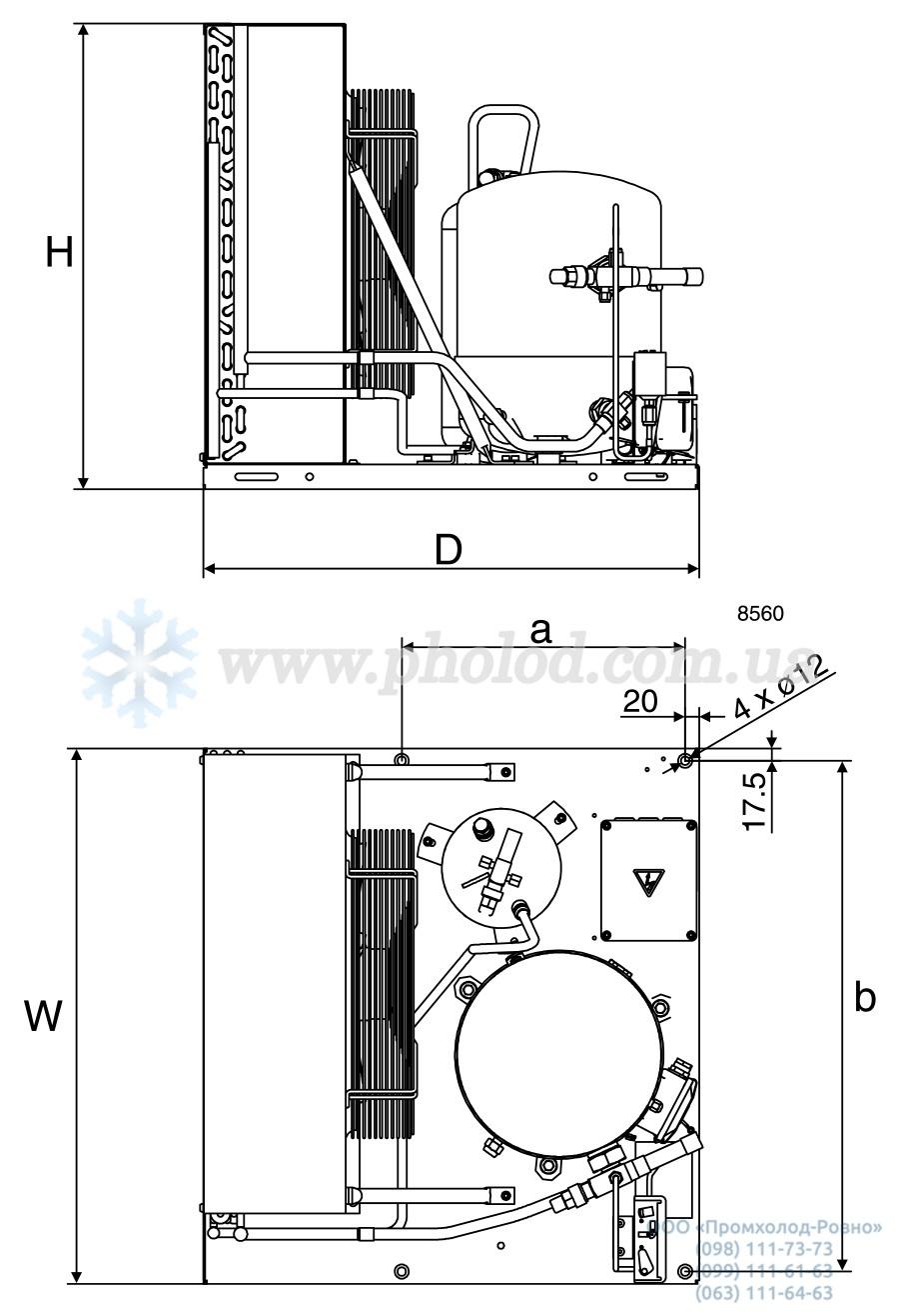 Danfoss Optyma LCHC 3