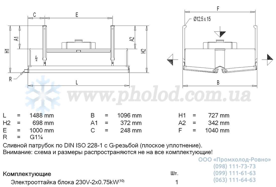 Guntner GBK 045.1B 17 2