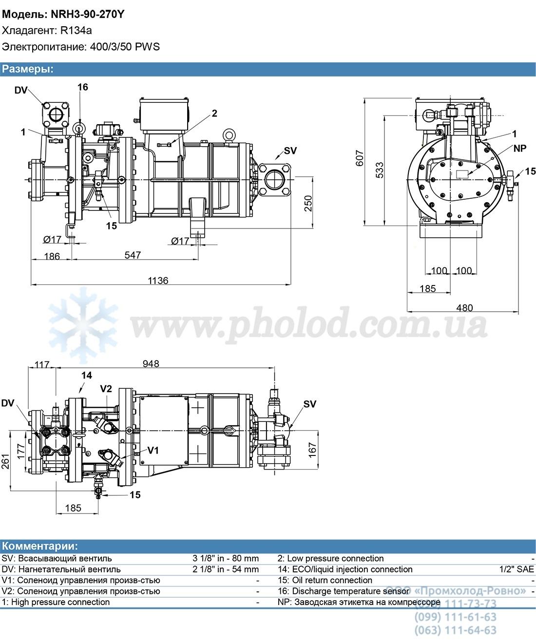 NRH3-90-270Y 3