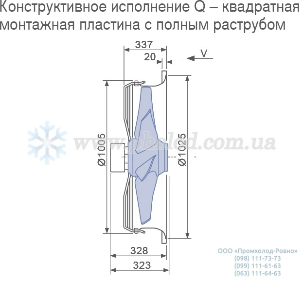 Ziehl-Abegg FC091-SDS.7Q.V7 (107146) 124407 1