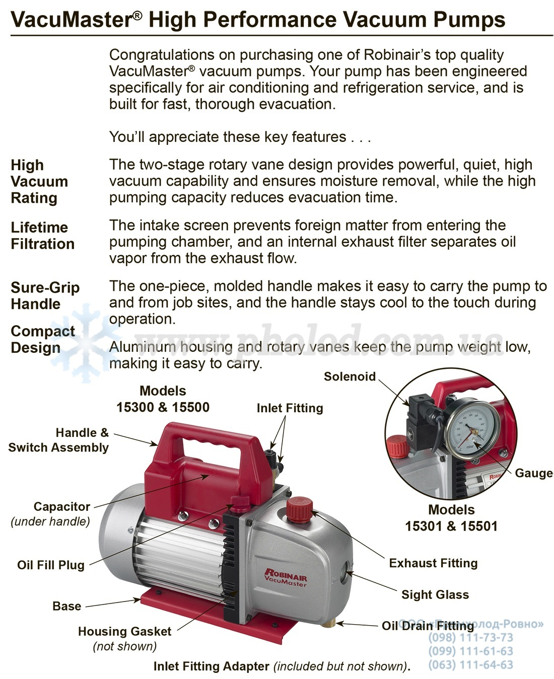 robinair vacuum pump - 2